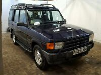 LAND ROVER DISCOVERY 2.5 TDI, MANUAL, 7 SEATS, STARTS & DRIVES WELL, MOT FAILED ON WELDING, BARGAIN