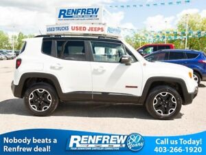 2017 Jeep Renegade 4WD Trailhawk, Heated Seats, Remote Start, Ba