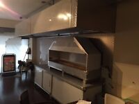 CARBON FILTER SILENCER WALL SHEET STAINLESS STEEL KITCHEN CANOPY COMMERCIAL TAKEAWAY KEBAB BAKERY