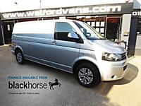 2014 Volkswagen Transporter T30 2.0TDi 102ps LWB A/C Alloys Diesel silver Manual