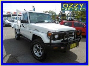 2000 Toyota Landcruiser HZJ79R (4x4) White 5 Speed Manual 4x4 Cab Chassis Penrith Penrith Area Preview
