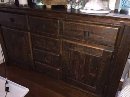 EarlySettler Beechwood Sideboard and TV Cabinet