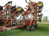 Bourgault 5710 Air Drill w/ cart