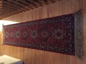 PENDING PICK UP Oriental rug- Runner