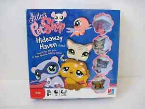littlest pet shop lps hideaway haven game with exclusive pets