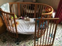 Stokke Sleepi Cot + 2 mattresses (worth £600 new)