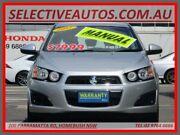 2012 Holden Barina TM MY13 CD Silver 5 Speed Manual Hatchback Homebush Strathfield Area Preview