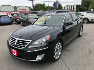2012 Hyundai Equus Signature..NAVI, CAMERA, LOW KILOMETERS..MINT