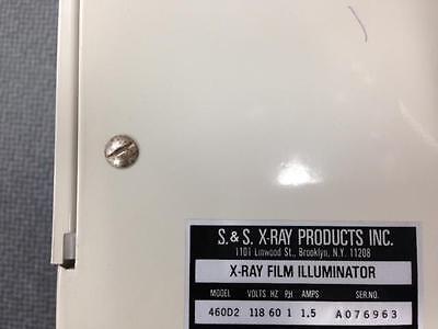 Ss X Ray Film Illuminator Viewer 460d2