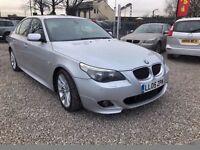 2005 BMW 5 Series 2.5 523i M Sport 4dr LEATHER+LONG MOT+FREE WARANTY