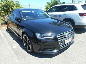 2015 Audi A3 8V MY16 Attraction S tronic Black 7 Speed Sports Automatic Dual Clutch Sedan Winnellie Darwin City Preview