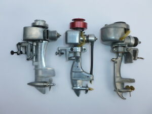 Vintage RC Outboard Engines Wen Mac Sea Fury K&B etc