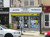 NEWSAGENTS WITH ACCOMMODATION BUSINESS REF 146946