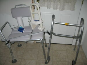 Assist devices for knee or hip replacement