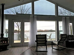 Waterfront Beautiful cottage for Rent Vacation