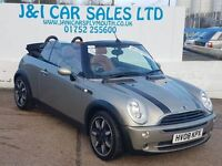 MINI CONVERTIBLE 1.6 ONE SIDEWALK 2d 89 BHP summer is coming (silver) 2008