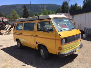 Classic 81 Westy with newly rebuilt engine