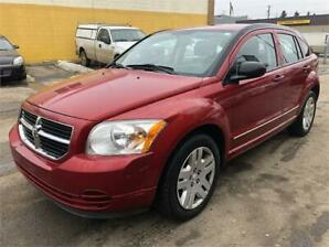 2010 Dodge Caliber SXT low km only 124565 inspected