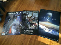 3 posters - Destiny, Watchdogs, Assassins Creed