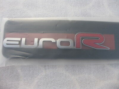 Honda Euro-R Rear Emblem  Accord , Acura TSX CL9 Genuine JDM