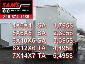 BEST PRICE ON ENCLOSED CARGO TRAILER IN GATINEAU OTTAWA