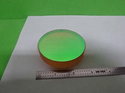 Optical Zerodur Dichroic Coated Concave Mirror Laser Optics As Is 58-c-03