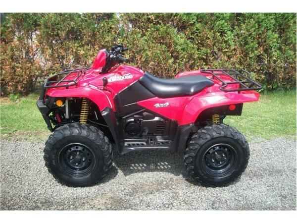 Used 2009 Suzuki king quad 450