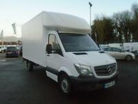 Mercedes-Benz Sprinter 313 CDI LWB 3.5t Luton DIESEL MANUAL WHITE (2014)