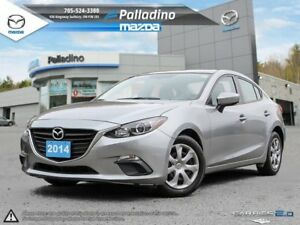 2014 Mazda Mazda3 GX-SKY- 5 STAR SAFETY RATING