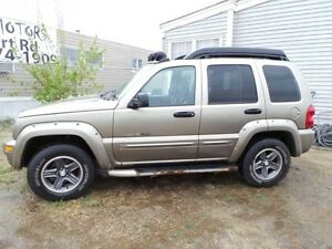 2003 Jeep LIBERTY Renegade For Sale Edmonton