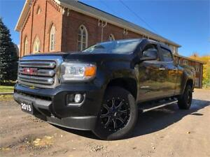 2015 GMC Canyon 4WD SLE+4X4+69KM+BLACK ON BLACK
