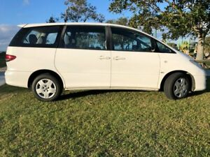 2004 Toyota Tarago ACR30R MY03 GLi White 4 Speed Automatic Wagon Tugun Gold Coast South Preview