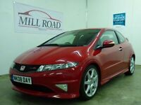 HONDA CIVIC 2.0 I-VTEC TYPE-R GT 3d 198 BHP STUNNING CONDITION (red) 2008