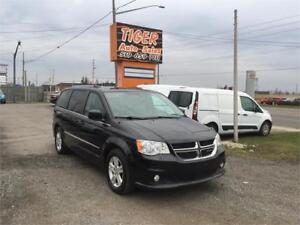 2014 Dodge Grand Caravan Crew**LEATHER**BACK UP CAM**ONLY 109 KM