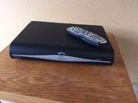 Sky HD box (Samsung) with remote and power cable
