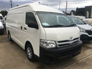 2013 Toyota HiAce KDH221R MY12 Upgrade SLWB White 4 Speed Automatic Van Granville Parramatta Area Preview