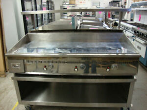 Keating Miraclean gas griddles in new condition