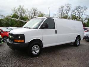 2015 Chevrolet Express 2500 Cargo Three Seater Extended