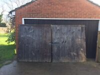 HEAVY DUTY GARDEN GATES 1640mm wide x 1800mm high each gate. £250 inc. ironmongery