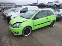 FORD FIESTA - GP08TPV - DIRECT FROM INS CO