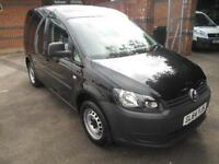 Volkswagen Caddy 1.6TDI 102PS VAN WITH A/C DIESEL MANUAL BLACK (2015)