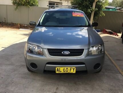 2006 Ford Territory TX SY Silver, Chrome Automatic Wagon