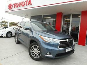2014 Toyota Kluger GSU55R Grande (4x4) Cosmos Blue 6 Speed Automatic Wagon Allawah Kogarah Area Preview