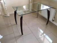 Dinning/Kitchen Glass Table