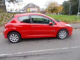 PEUGEOT 207 1.4 MPLAY 3d 73 BHP (red) 2008
