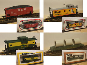 Vintage HO Rolling Stock - Like New in Box