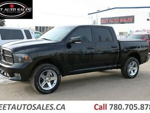 2012 Ram 1500 Sport 4x4 Crew Cab Short Box Customized Truck!