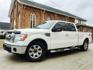 2009 Ford F-150 Lariat 4X4  - Sunroof + Leather    $11,789