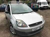 2007 Ford Fiesta van diesel, starts and drives but no quite right, hence price, located in Gravesend