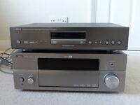 Yamaha AV receiver and DVD player